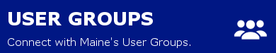 User Groups link