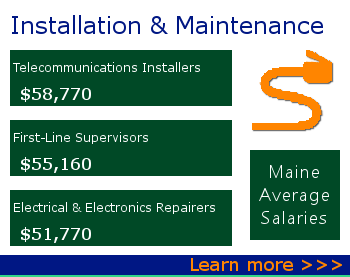link to job titles in Installation Maintenance and Repair Occupations