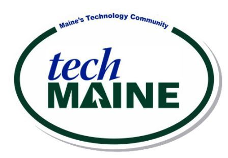 TechMaine sticker
